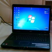 Gaming laptop Acer TravelMate 5520 (pulls tanks)