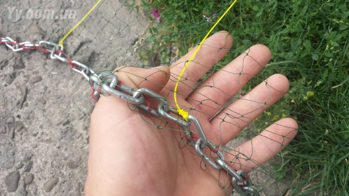 изготовление кастинговой сети с большим кольцом своими руками