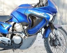Moto equipment. Luggage systems, motorcycle side frames