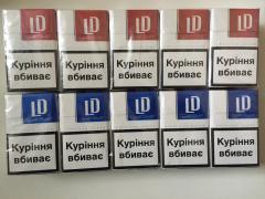 Продам оптом сигареты LD (красный, синий)